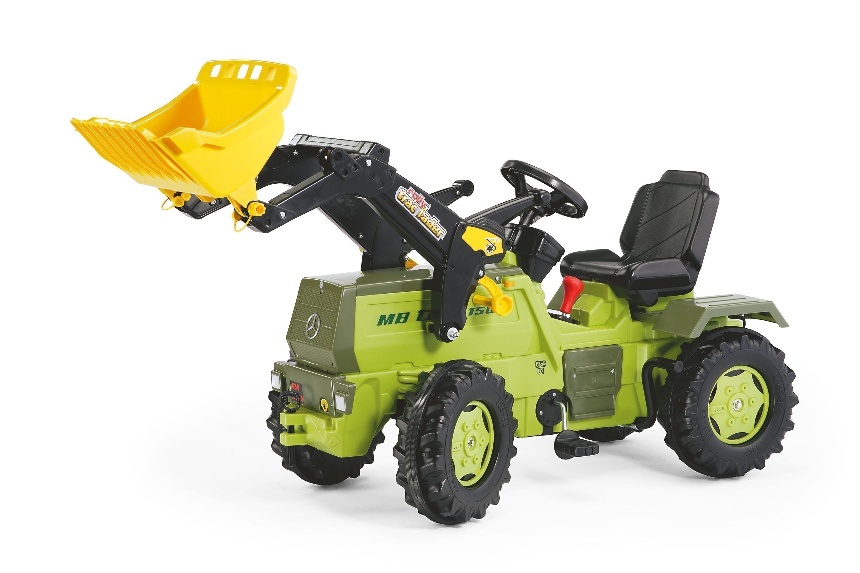 Trettraktor rolly Farmtrac MB 1500 mit Frontlader - Rolly Toys Bild 1