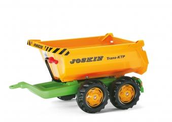 Anhänger für Tretfahrzeug rolly Halfpipe Trailer Joskin - Rolly Toys