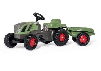 Trettraktor rolly Kid Fendt 516 Vario mit Anhänger - Rolly Toys Bild 2