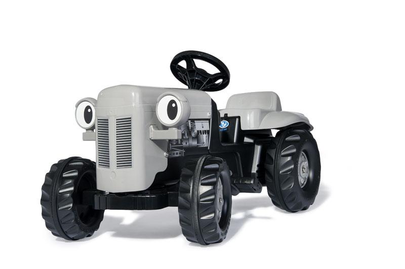 Trettraktor rolly Kid Little Grey Fergie mit Anhänger - Rolly Toys Bild 2