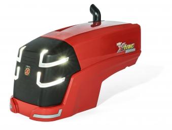 Trettraktor rolly trac premium mit frontlader led rolly toys