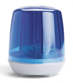 Blinklicht für Tretfahrzeug rolly Flashlight blue - Rolly Toys Bild 1