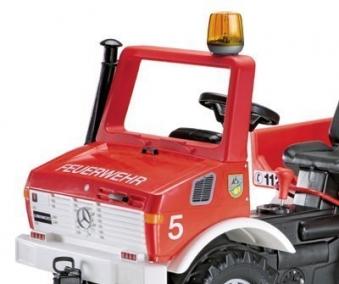 Blinklicht für Tretfahrzeug rolly Flashlight orange - Rolly Toys Bild 2