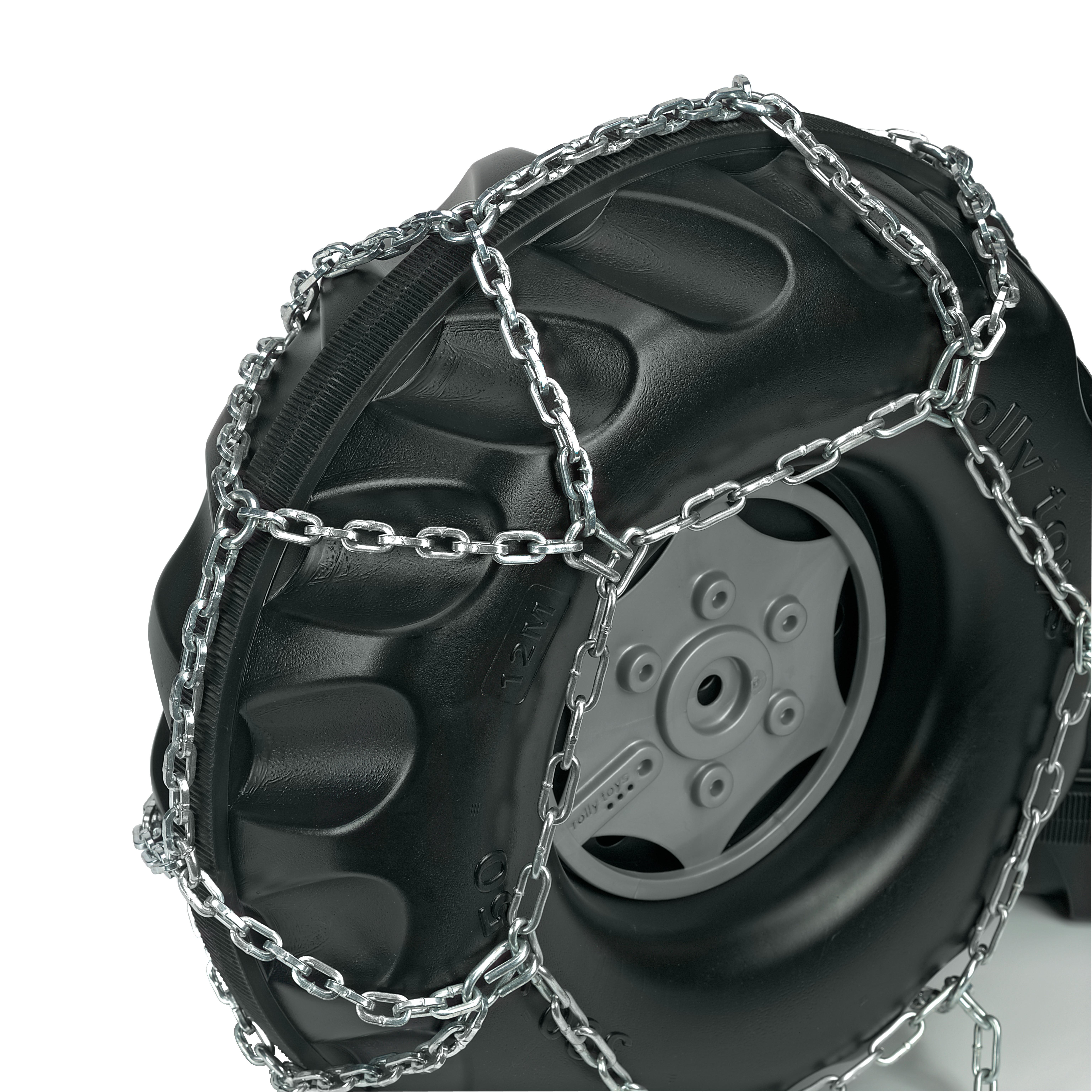 Schneeketten für Tretfahrzeug 325x110 + 330x120 - Rolly Toys Bild 2
