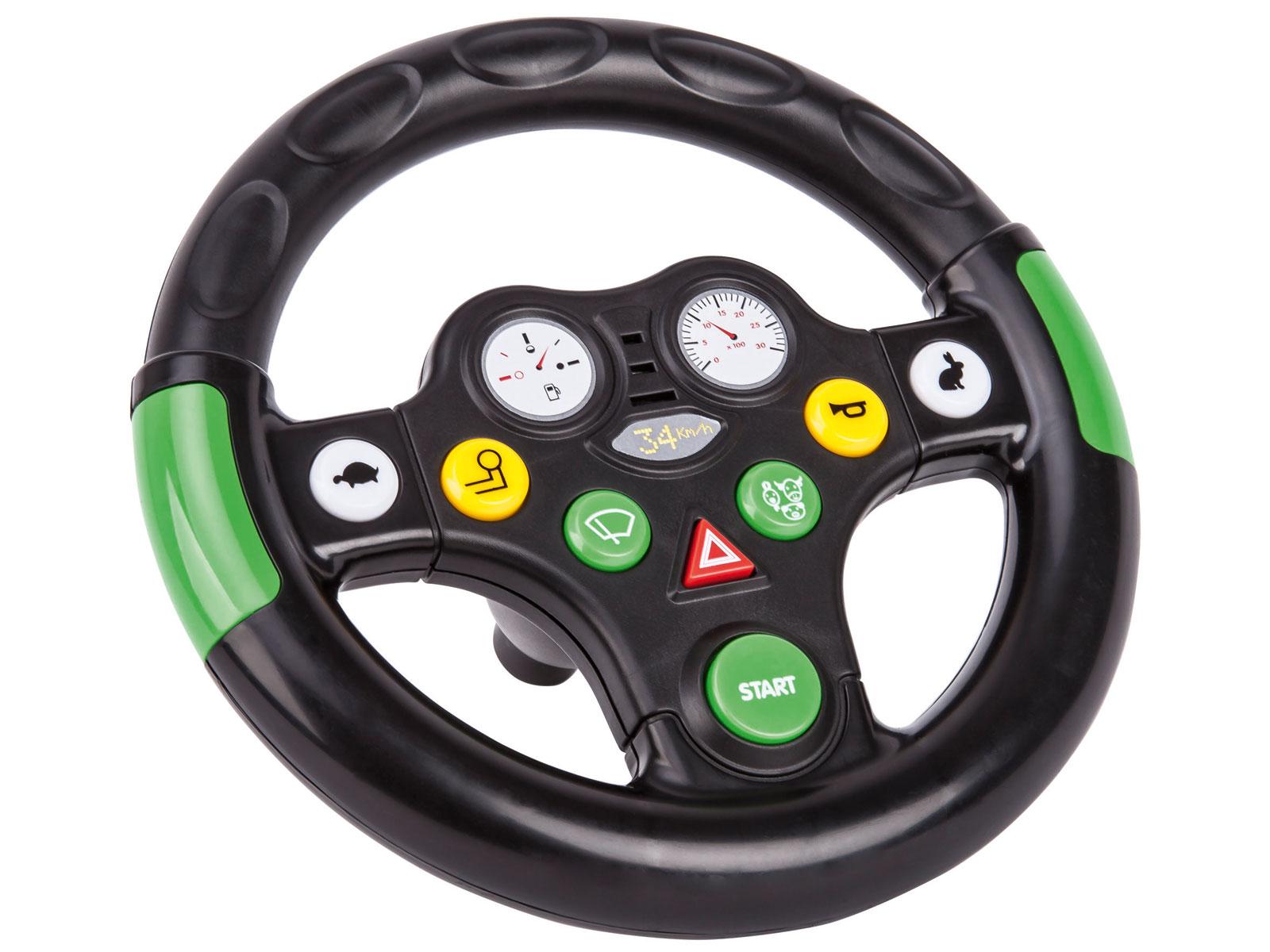 BIG Traktor Lenkrad Sound Wheel Bild 1