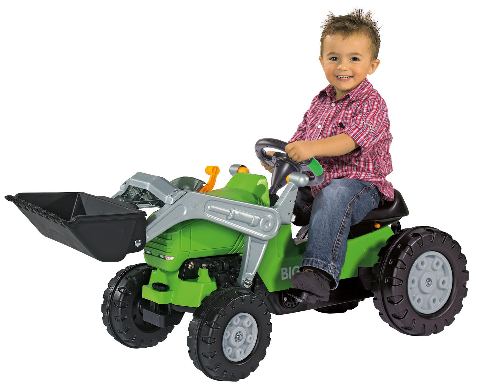 BIG Traktor Lenkrad Sound Wheel Bild 3