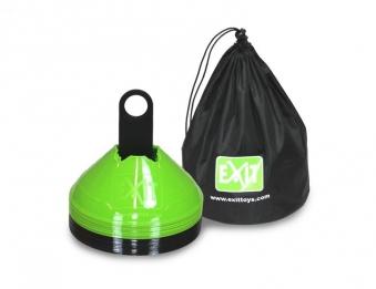 Markierhütchen EXIT grün/schwarz 20 Stück Bild 1