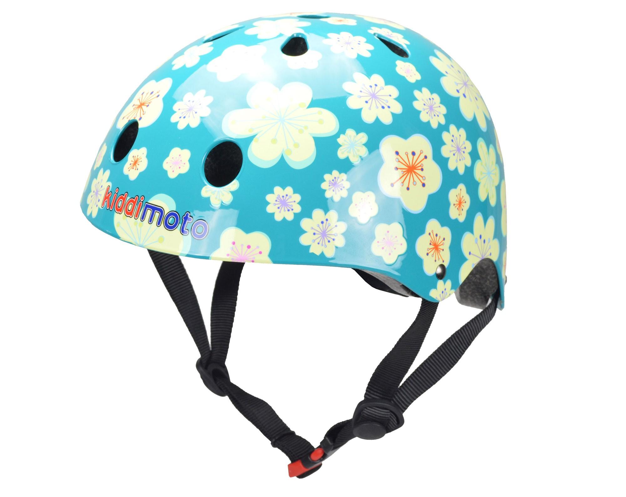 kiddimoto Fahrradhelm / Kinderhelm Größe M Fleur Bild 1