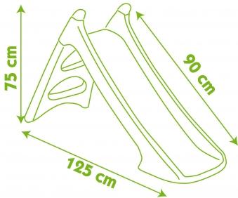 Smoby XS Rutsche / Wasserrutsche Girl 90cm Bild 2