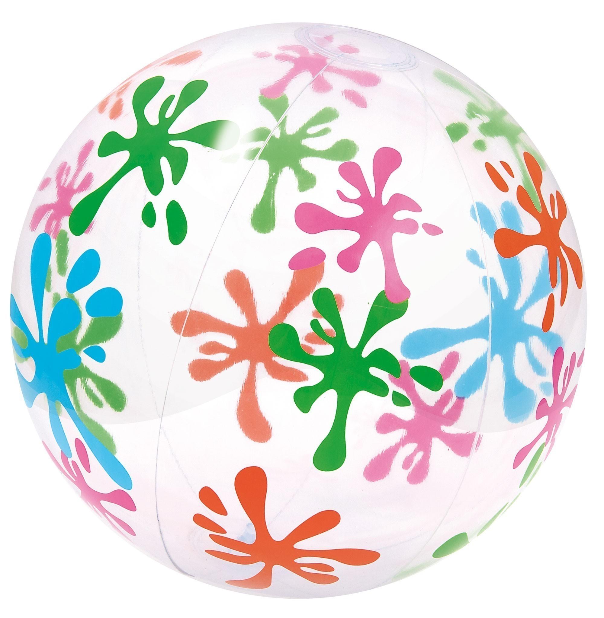 Wasserball / Strandball Bestway Designer Ø41cm Bild 1