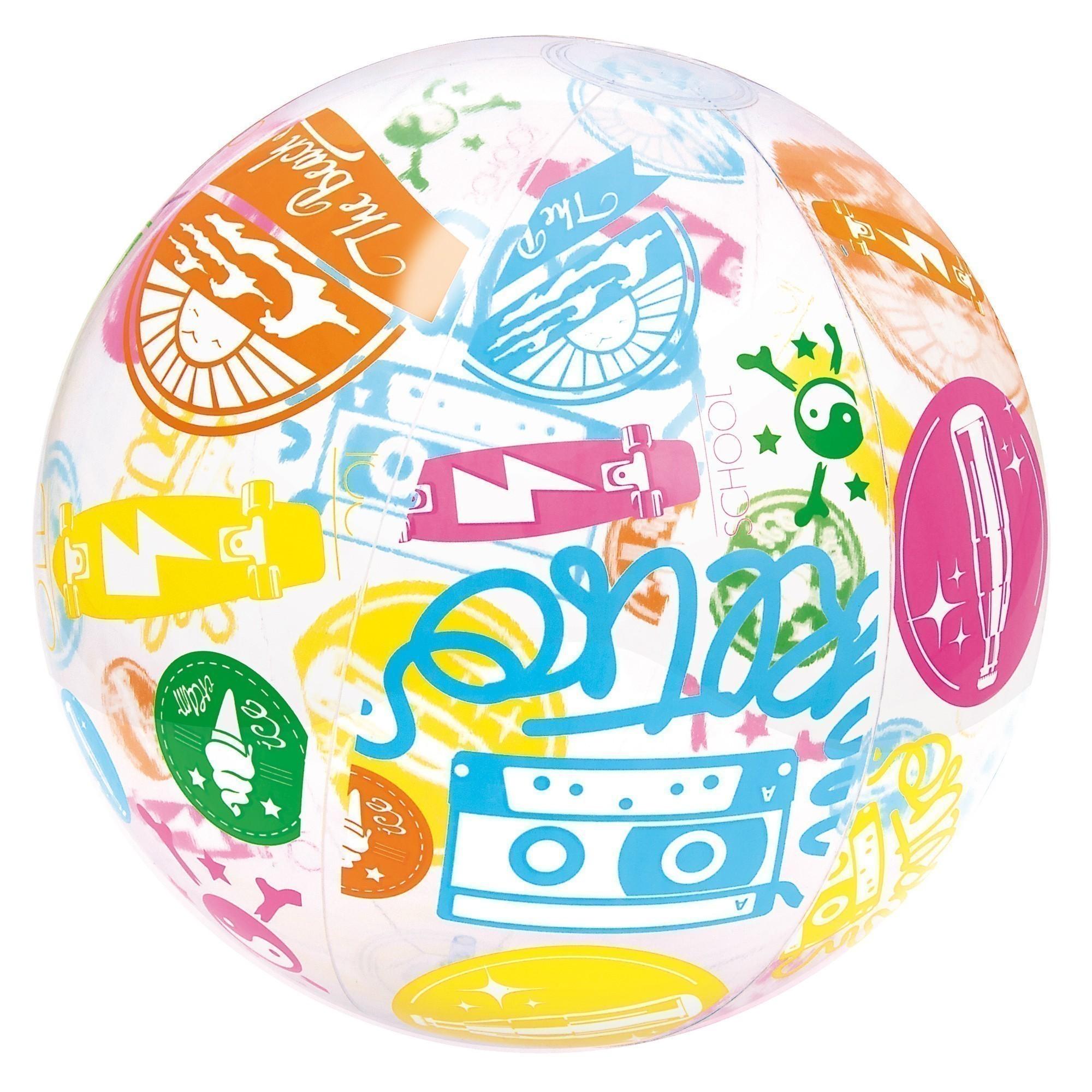Wasserball / Strandball Bestway Designer Ø41cm Bild 2