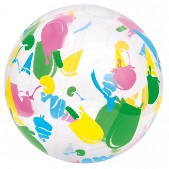 Wasserball / Strandball Bestway Designer Ø41cm Bild 3