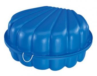 BIG Sandkasten und Wassermuschel blau Bild 3