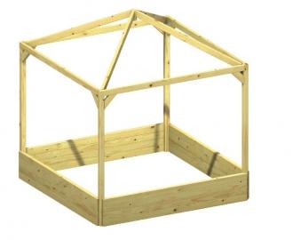 Kinderpavillon / Sandkasten BENJAMIN kdi 164x164x180cm Bild 1