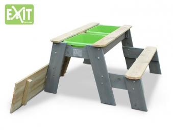 sandkasten exit aksent sand wasser und picknicktisch. Black Bedroom Furniture Sets. Home Design Ideas