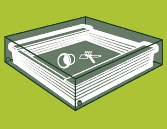 sandkastenabdeckung abdeckplane siena garden f sandkasten. Black Bedroom Furniture Sets. Home Design Ideas