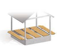 Sandkastendeckel für Sandkasten MORITZ Bild 2