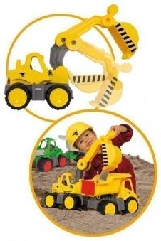 BIG Power-Worker Spielzeug Bagger Bild 2