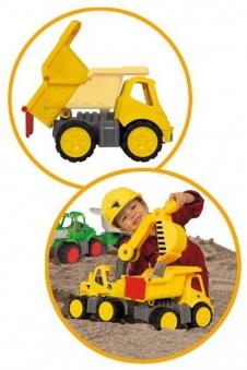 BIG Power-Worker Spielzeug LKW Kipper Bild 2