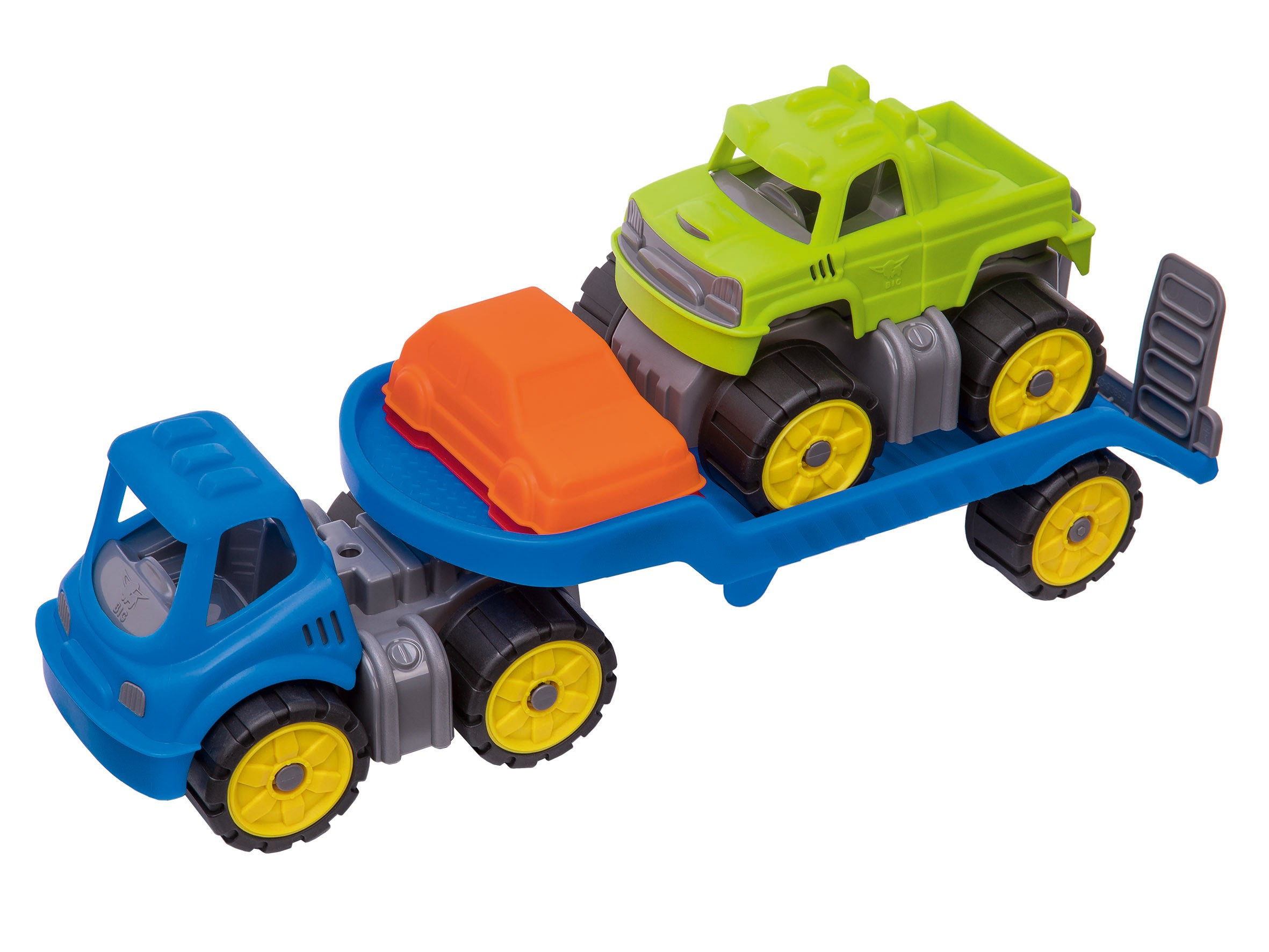 BIG Power-Worker Spielzeug Mini Monstertruck-Set Bild 1