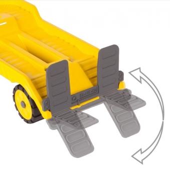 BIG Power-Worker Spielzeug Mini Transporter + Bagger Bild 3