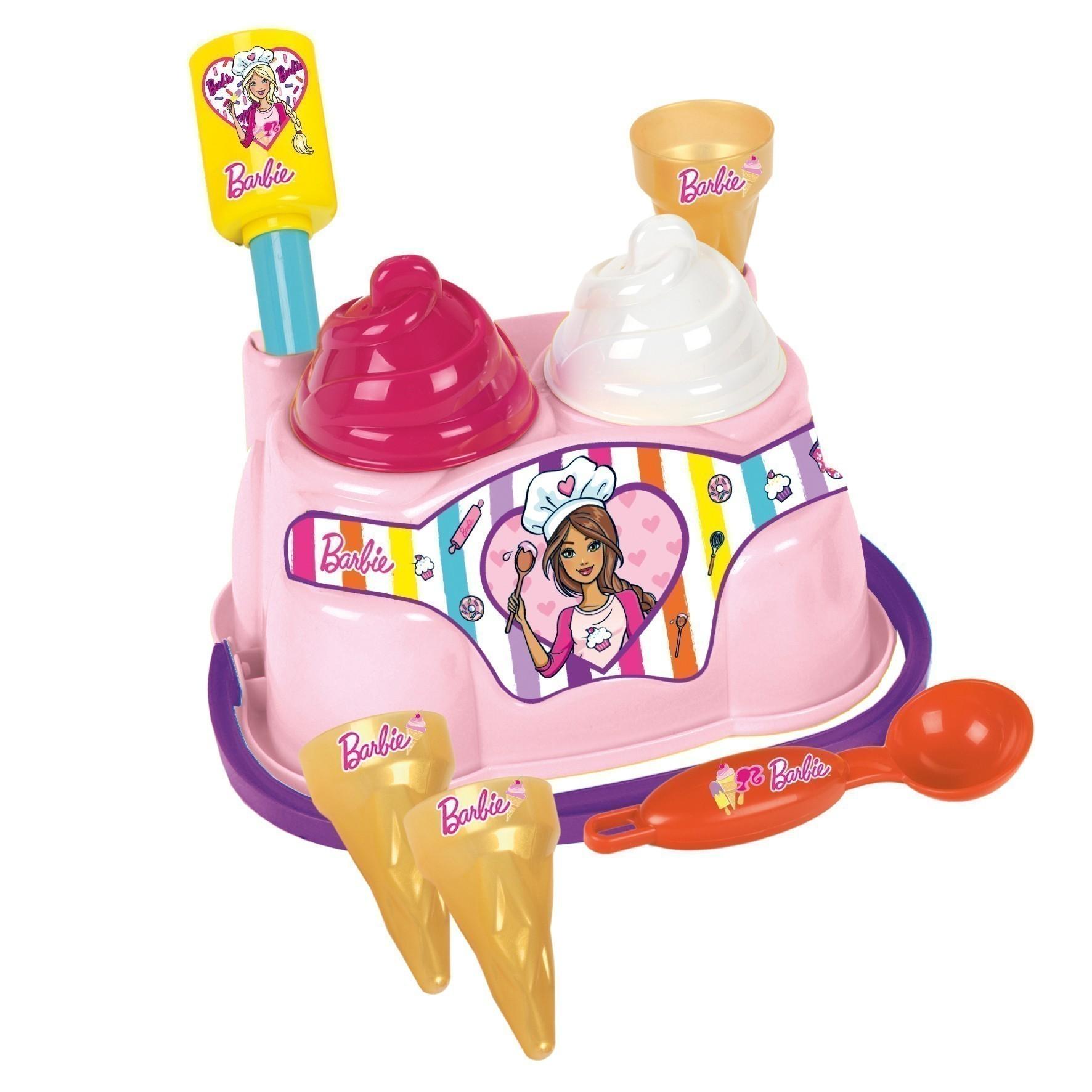 Barbie Sandspielzeug Eisstand mit Eimer Bild 1