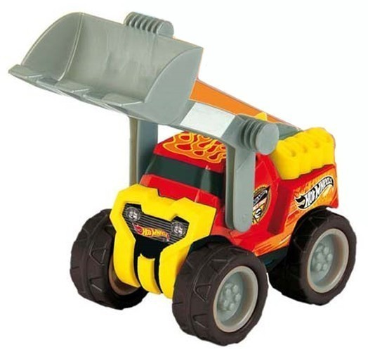 Hot Wheels Radlader 24x11x11cm Bild 1