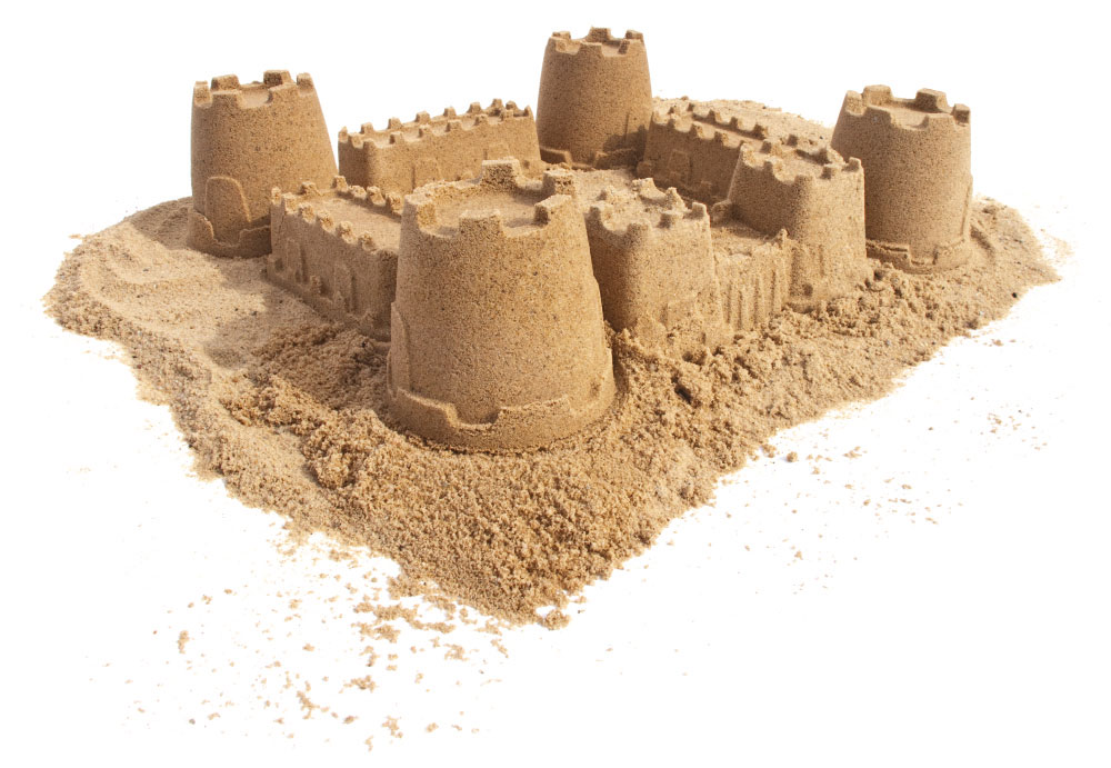 Sandform Burgtor spielstabil Bild 2
