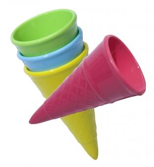 Sandform Eistüte pastell spielstabil Bild 3
