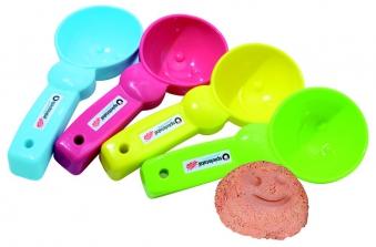 Sandspielzeug Eisportionierer pastell spielstabil