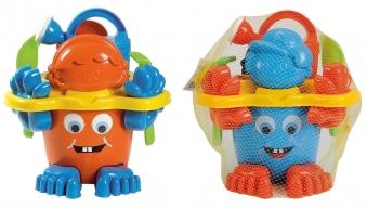 Sandspielzeug Eimergarnitur mit Füßen farbig sortiert Simba Bild 2