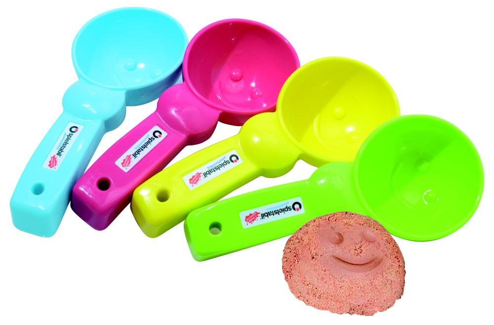 Sandspielzeug Eisportionierer pastell spielstabil Bild 1