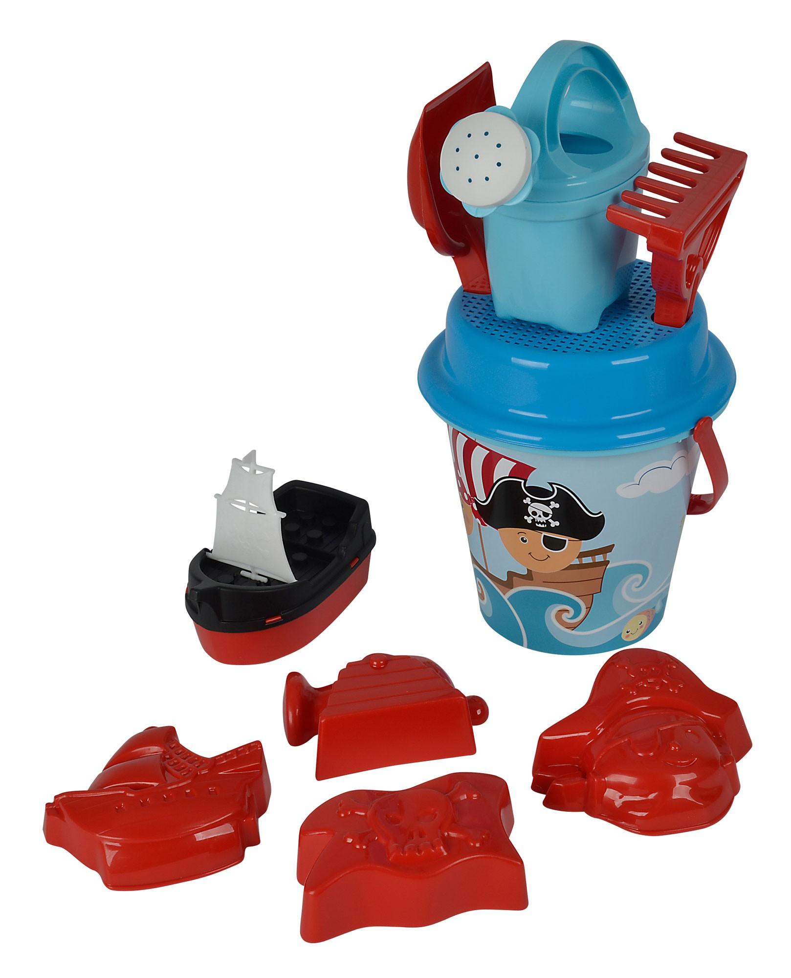 Sandspielzeug Pirat Eimergarnitur 11-teilig Simba Bild 1
