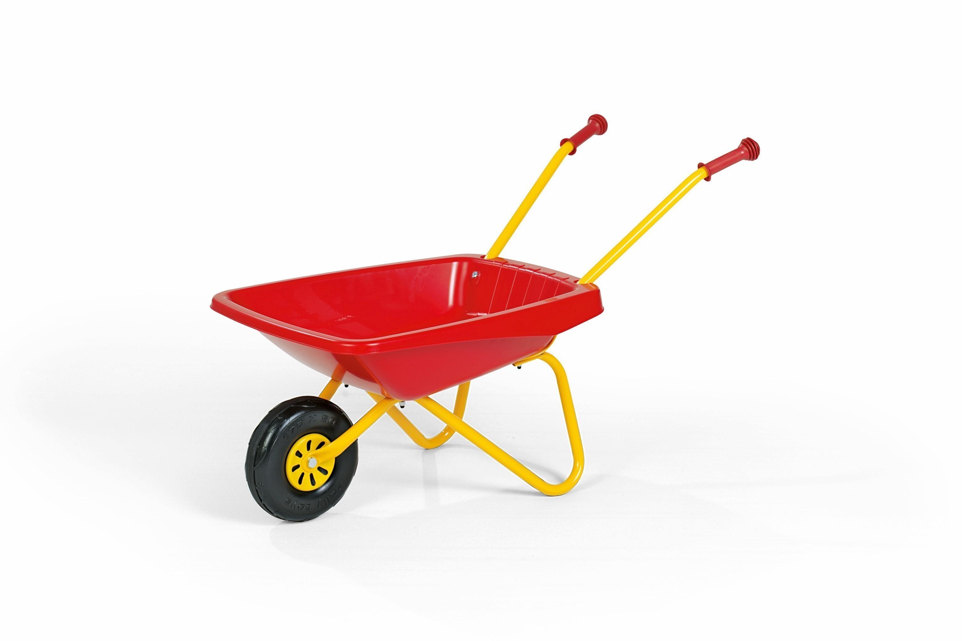Schubkarre gelb / rot - Rolly Toys Bild 1