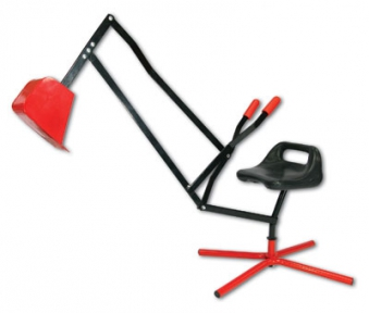 Spielzeug Bagger / Kinderbagger Metall 360° drehbar Bild 1