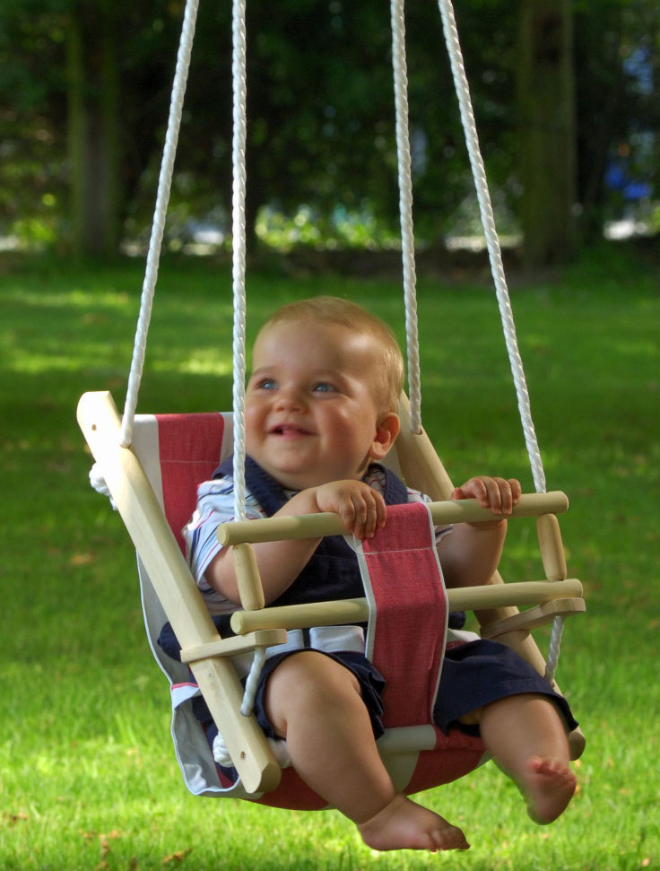 schaukelsitz bambini babyschaukel stoff bei. Black Bedroom Furniture Sets. Home Design Ideas