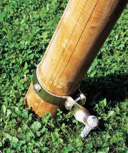 Schaukelschelle mit Erdnagel GAH Alberts Ø90mm Bild 2