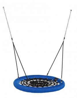 Nestschaukel Rosette Ø120cm schwarz-blau für öffentlichen Bereich Bild 1