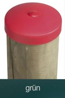 Abdeckkappe für Pfosten Kunststoff grün Ø 100mm Bild 1
