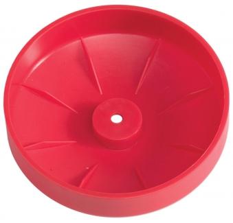 Abdeckkappe für Pfosten Kunststoff rot Ø 120mm Bild 2