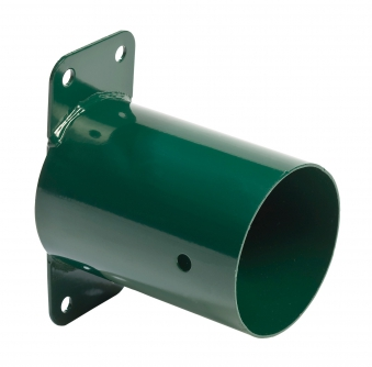 Rohrverbindungsstück rund grün Ø100mm Bild 1