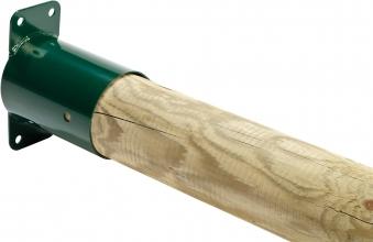 Rohrverbindungsstück rund grün Ø100mm Bild 2