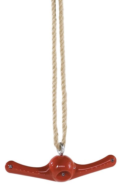 Schaukel Ventolino rot mit Seil Bild 1