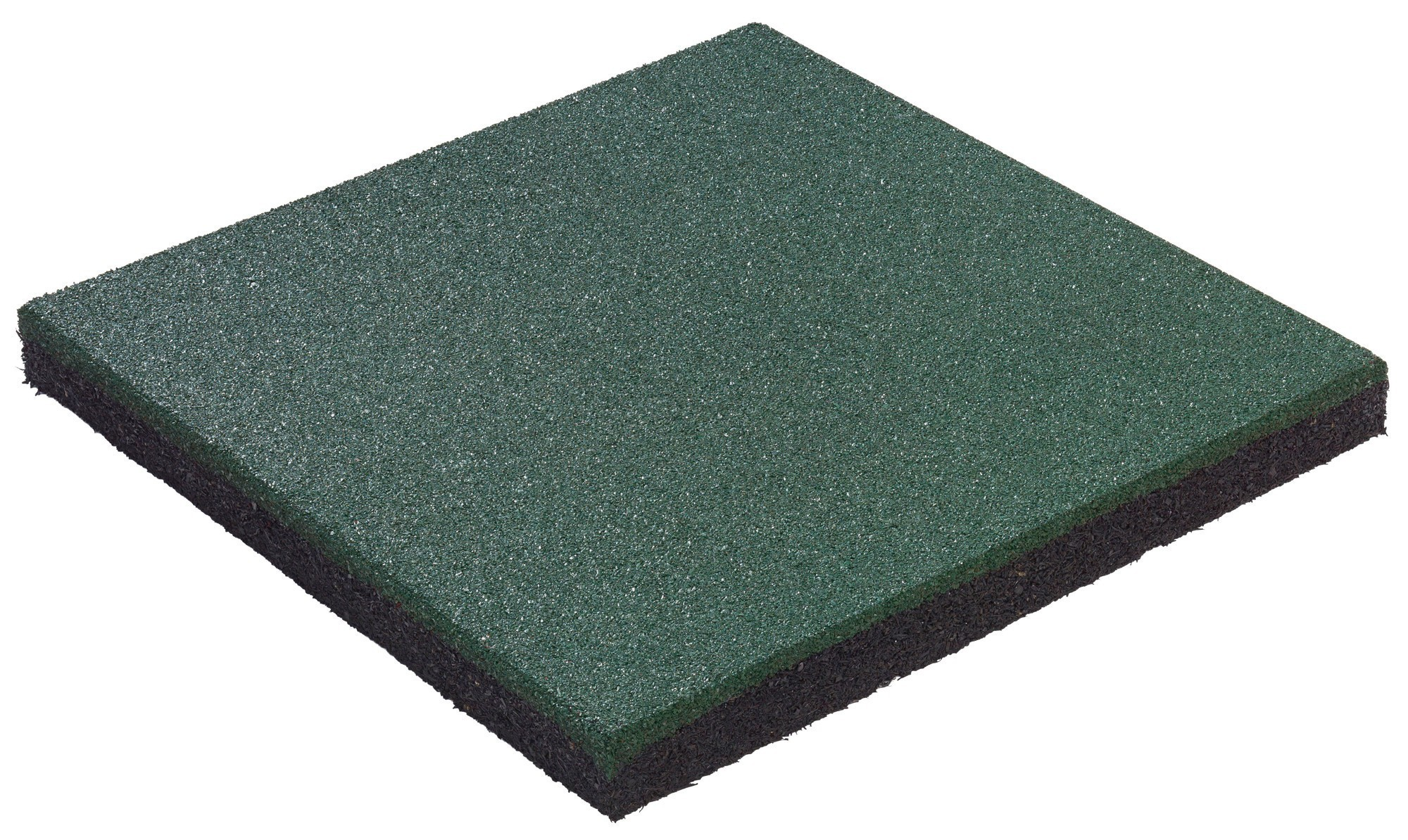 Fallschutzplatte / Gummimatte hicar 50x50x4,5cm Bild 1