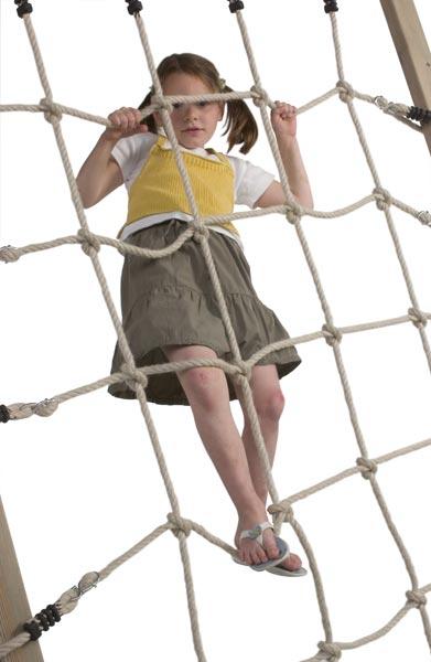 Kletternetz mit offenen Schlaufen 1,25x2,00m Bild 2
