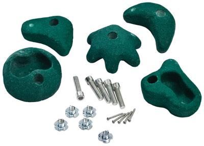 Klettersteine Ø 100 - 120 mm grün Bild 1