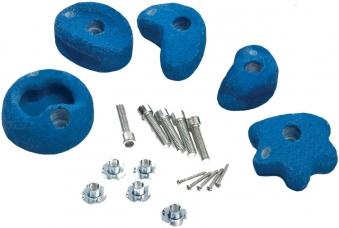 Klettersteine blau 5 Stück Ø 75-85mm Bild 1