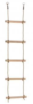 Strickleiter mit Holzsprossen 1,95m Bild 1