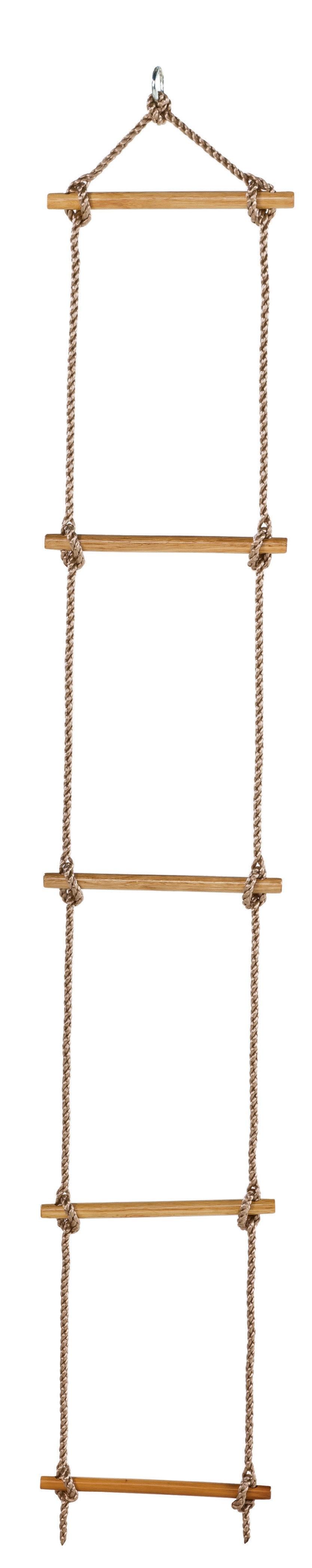 Strickleiter mit Holzsprossen light Bild 1