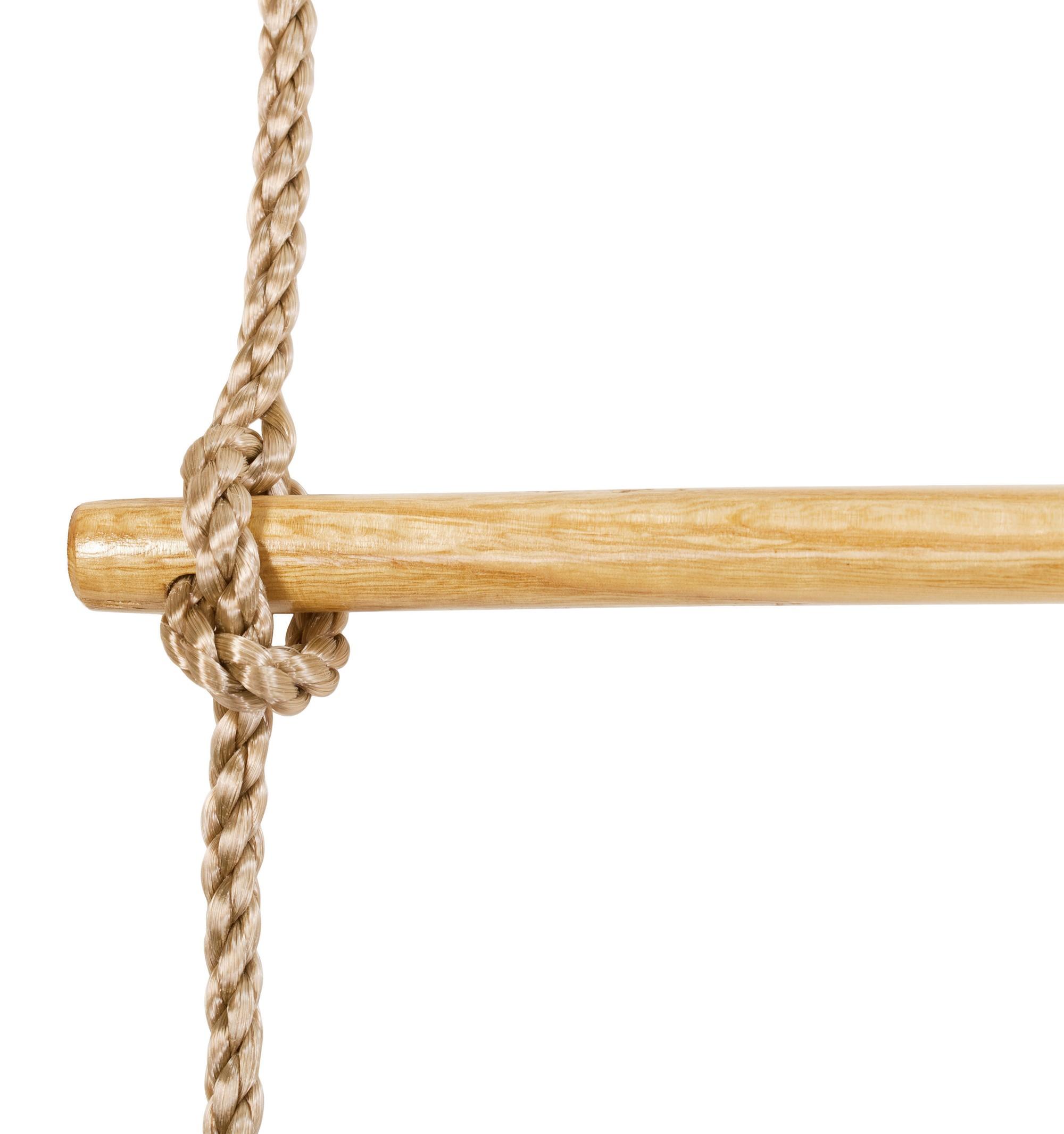 Strickleiter mit Holzsprossen light Bild 2